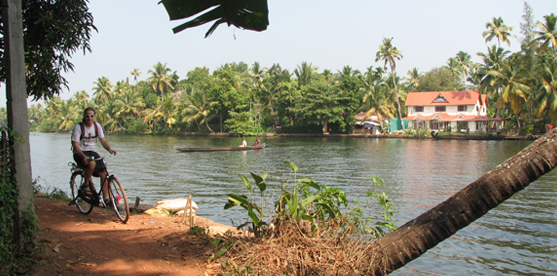alleppey cycling